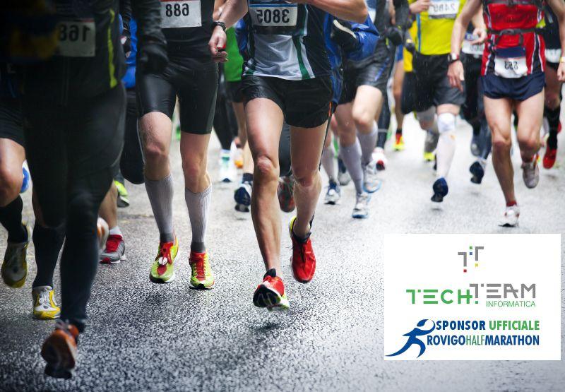 Rovigo halfmarathon TECH.TEAM sponsor